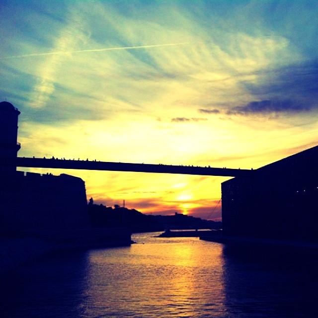 Sunset Mucem