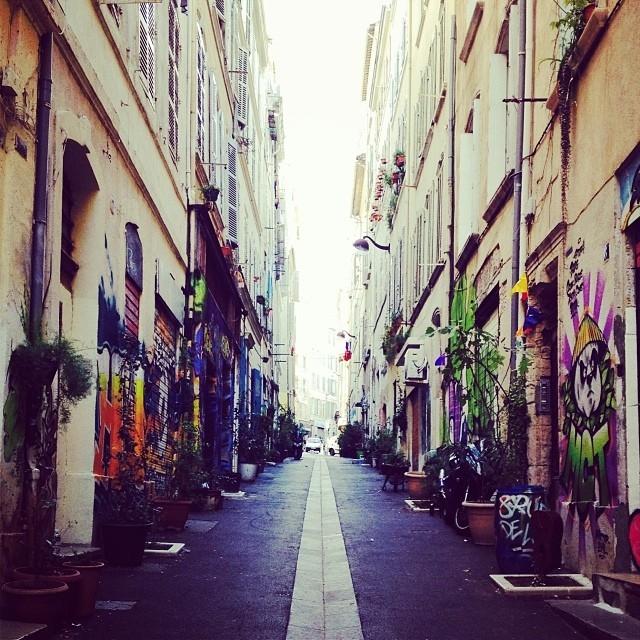 Plantes et graffitis