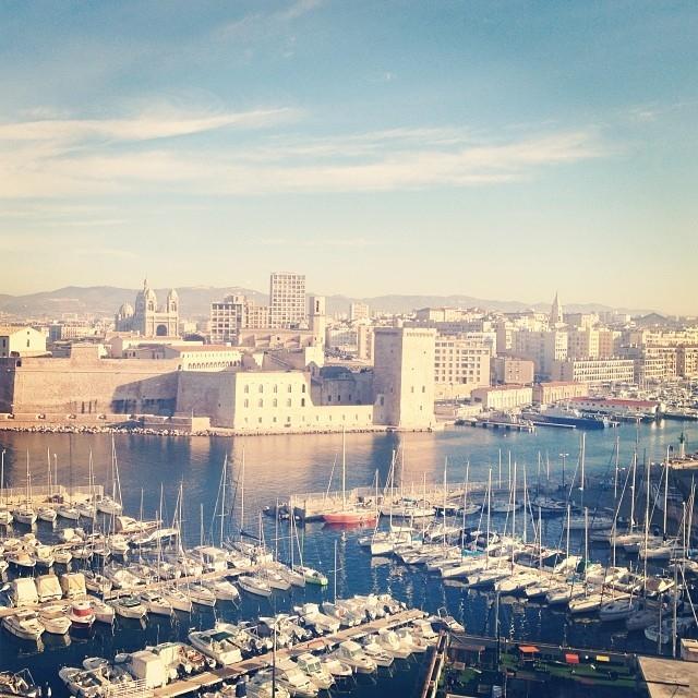 La lumière de Marseille