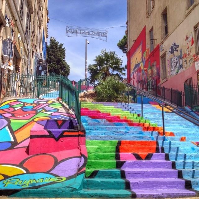 Escalier du Cours Ju